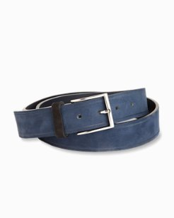 Suede Harness Belt