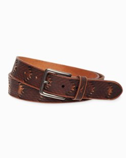 Western Leather Belt
