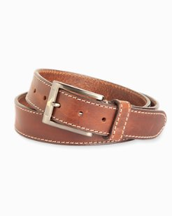 Heavy Stitch Leather Belt