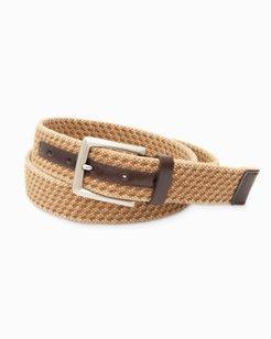 Washed Webbed Belt