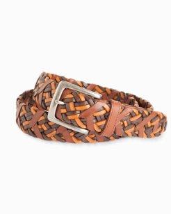 Braided Vachetta Belt