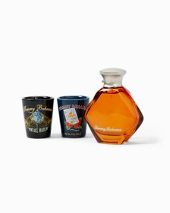 Tommy Bahama for Him & Shot Glass Gift Set