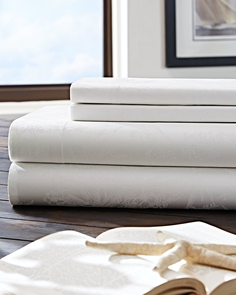 Heirloom Embr Sheet Set Queen