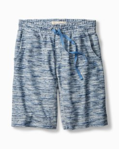 Printed French Terry Lounge Shorts