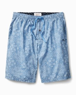 Fading Geo Woven Lounge Shorts