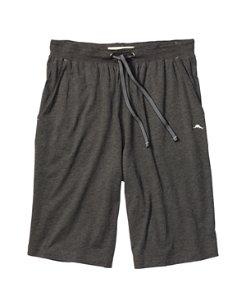 Heathered Jersey-Knit Lounge Shorts