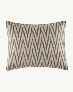 Sandy Coast 16x20-Inch Ikat Pillow