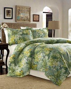 Cuba Cabana 4-Piece California King Comforter Set