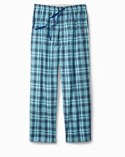Seersucker Woven Plaid Lounge Pants