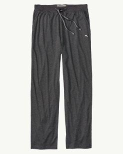 Heathered Jersey-Knit Lounge Pants