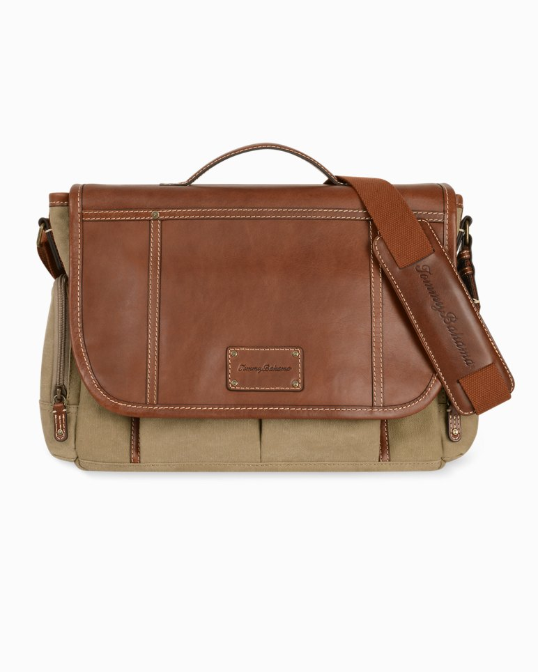Main Image for Canvas & Leather Messenger Bag
