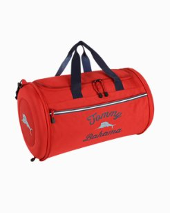 Tumbler Clamshell Duffel Bag - Red