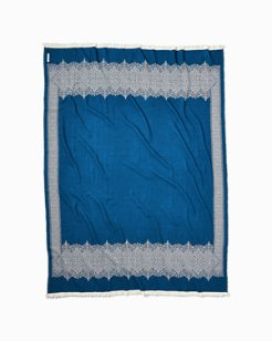 Fez Wool Throw Blanket