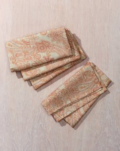 Paisley Napkins - Set of 4
