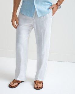 Big & Tall Linen on the Beach Elastic-Waist Pants