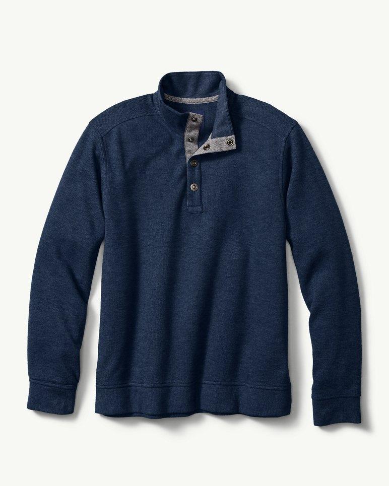 Big & Tall Cold Springs Snap Mock-Neck Sweatshirt
