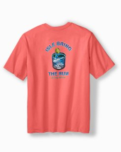 Big & Tall Isle Bring The Rum T-Shirt
