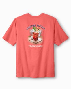Big & Tall Starting Pitcher T-Shirt