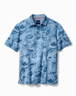 Big & Tall Marlin Party Polo
