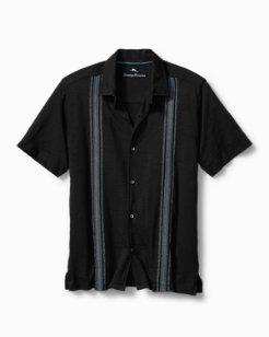 Big & Tall Laguna La Mar Knit Camp Shirt