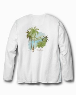 Big & Tall Stay Palm Lux Long-Sleeve T-Shirt