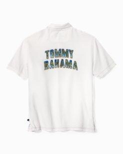 Big & Tall Tommy Bahama Logo Palms IslandZone® Polo