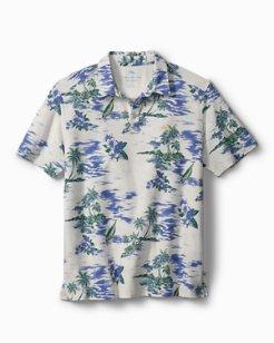 Big & Tall Island Hop Tropicool IslandZone® Polo