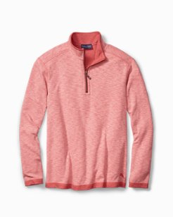 Big & Tall Sea Glass Reversible Half-Zip Sweatshirt