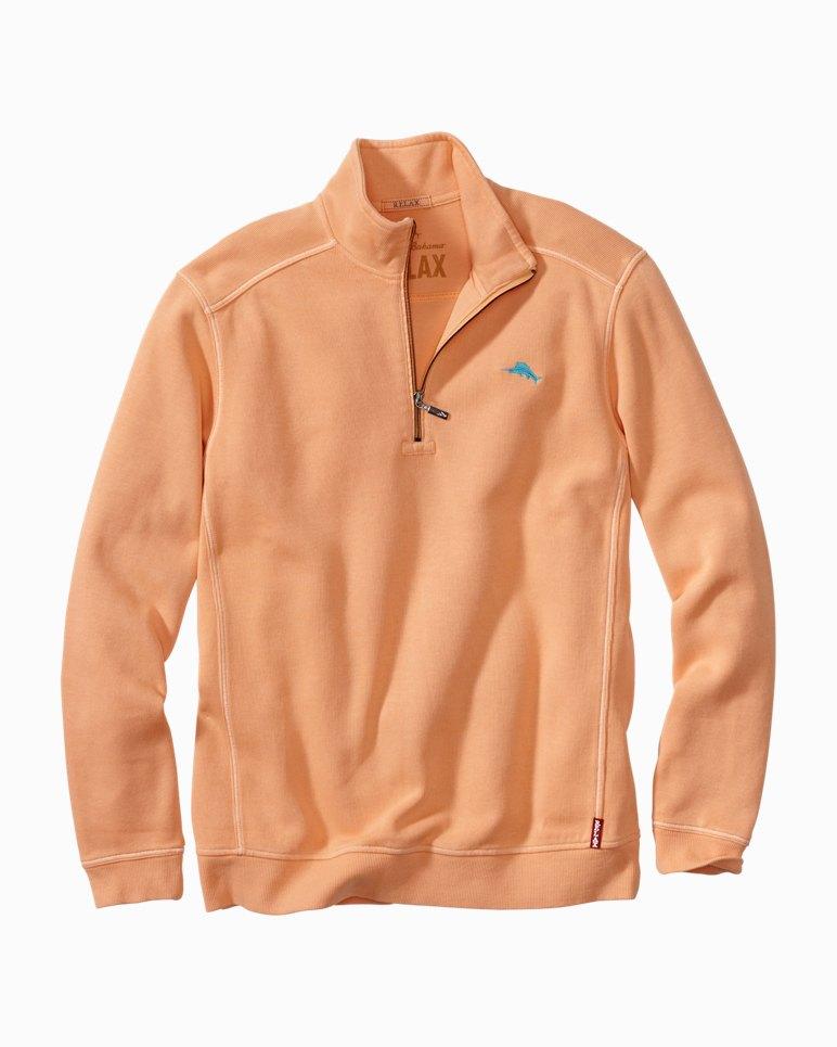 Big & Tall Antigua Cove Half-Zip Sweatshirt