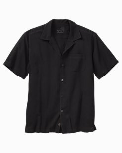 Big & Tall Catalina Twill Camp Shirt