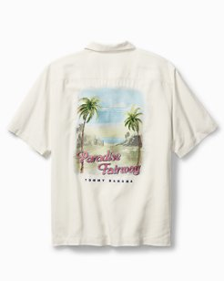 Big & Tall Paradise Fairway Camp Shirt