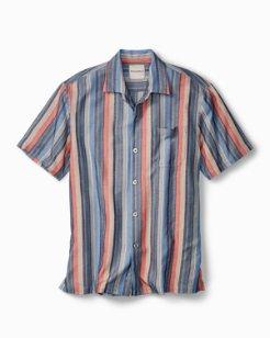 Big & Tall Stripe-Tastic Camp Shirt