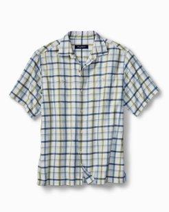 Big & Tall Peninsula Plaid IslandZone® Camp Shirt