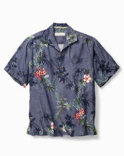 Big & Tall Volas Vineyard Camp Shirt