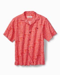Big & Tall Thatch Of The Day IslandZone® Camp Shirt