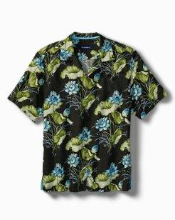 Big & Tall Adriatic Garden IslandZone® Camp Shirt