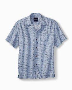 Big & Tall Geo Chaser IslandZone® Camp Shirt