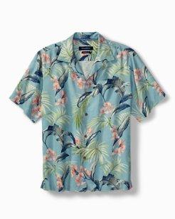 Big & Tall Adara Garden Camp Shirt