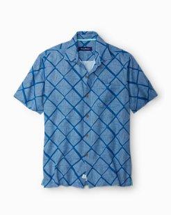 Big & Tall Doric Diamond Camp Shirt