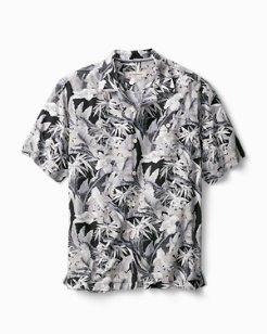 Big & Tall Oasis Blooms IslandZone® Camp Shirt