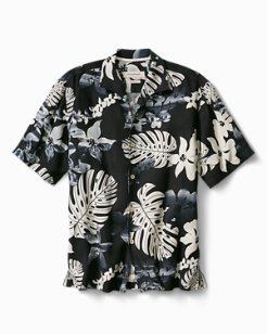 Big & Tall Aloha Fronds Camp Shirt