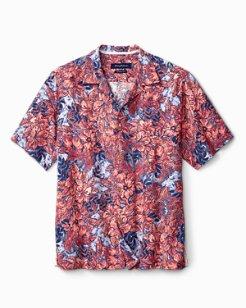 Big & Tall Greek Batik IslandZone® Camp Shirt