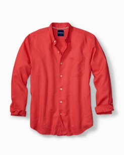 Big & Tall Monaco Tides Stretch-Linen Shirt
