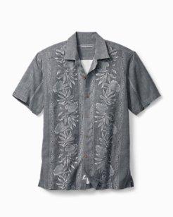Big & Tall Pacific Floral Camp Shirt
