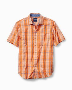 Big & Tall Playa del Plaid Camp Shirt