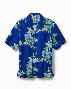Big & Tall Lanai Lagoon Camp Shirt