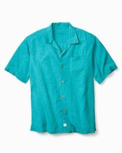 Big & Tall Islander Fronds Camp Shirt