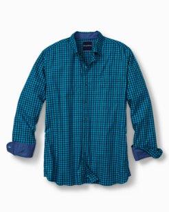 Big & Tall Mazagan Check Stretch Shirt