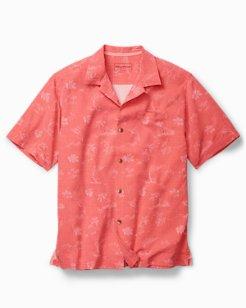 Big & Tall Gulf Shore Marlin Camp Shirt
