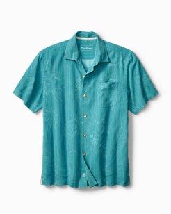 Big & Tall Point Break Palms Camp Shirt